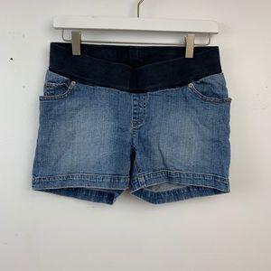 Oh baby maternity jean shorts